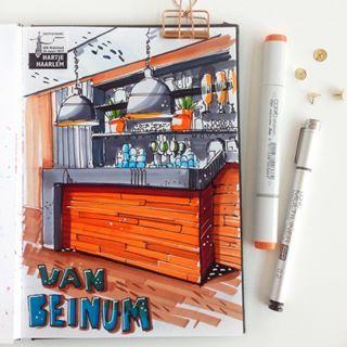 As a good weather urban sketcher sometimes I have to draw indoor. 😂 With USk Nederland in Haarlem during the 3d National Sketchcrawl #traveljournal #artbook #sketchbookart #haarlem #usk #nationalsketchcrawl #sketchcrawl #sketching #urbansketchersnederland #usknederland #markerart #copicmarkersketch #haarlemcity #vanbeinum #drawing #markers #sketchbook #sketchbookart #sketchzone #sketchaday #indoorsketching #sketchchallenge #sketchingchallenge #sketch #hartjehaarlem