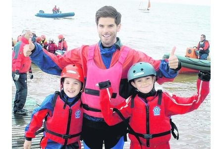 Youngsters given a taste of the waves at Herne Bay Sailing Club