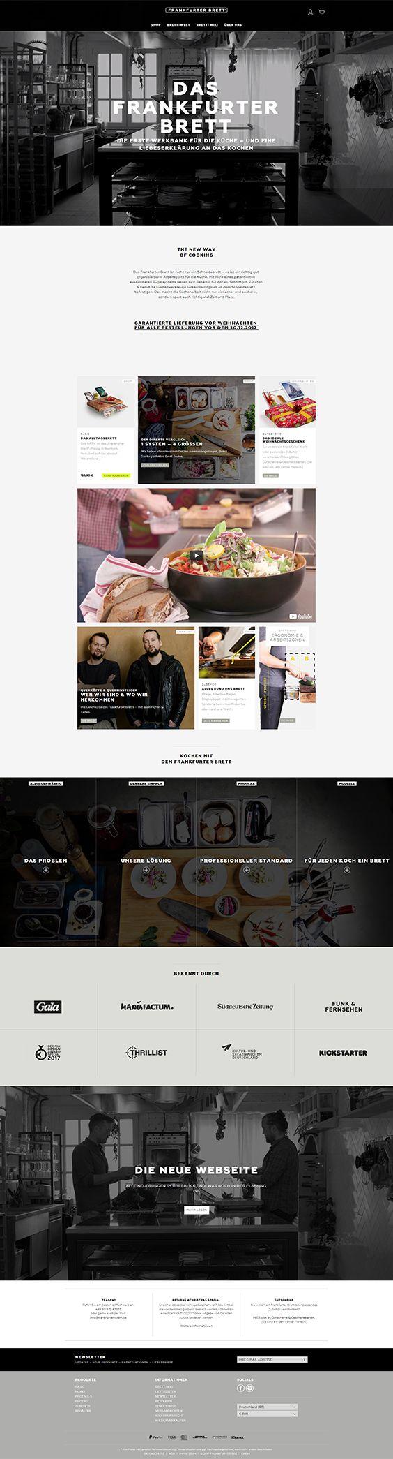 Shopware Design, Shopware Theme, Shopware Shop, eCommerce, eCommerce Software, eCommerce platform, Onlineshop, Interior, Kitchen accessories, Frankfurter Brett, wooden board