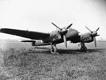 Bristol Beaufighter NF Mk.II, merlin engined, night fighter variant.