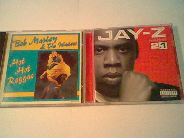 2 CD lot : Jay -Z Blueprint 2.1 / Bob Marley and the Wailers  Hot Hot Reggae