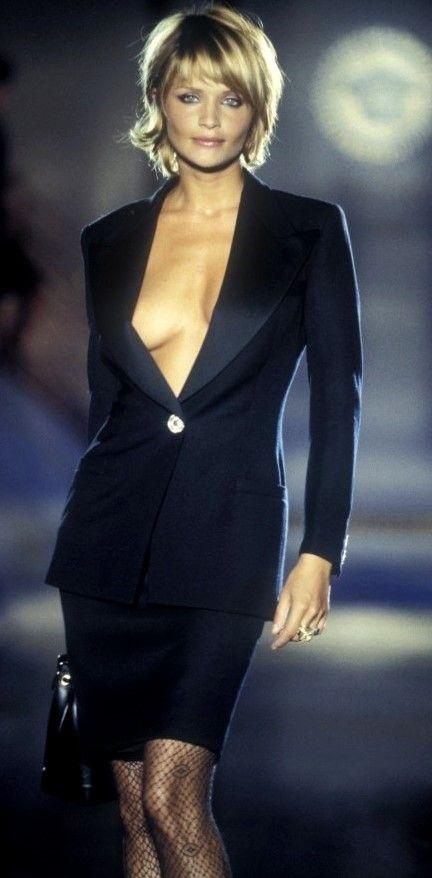 Helena Christensen - Atelier Versace,  Fall/Winter 1994