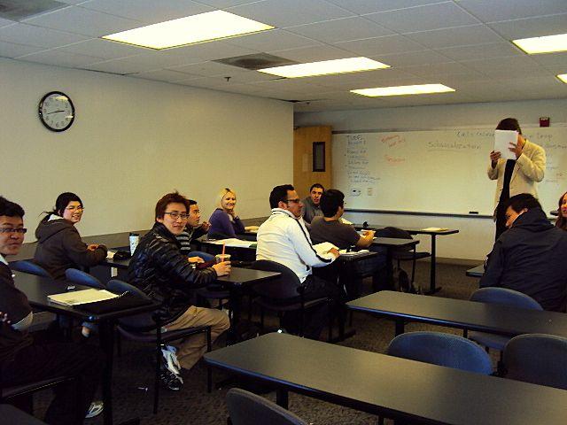 Sala de aula multicultural!
