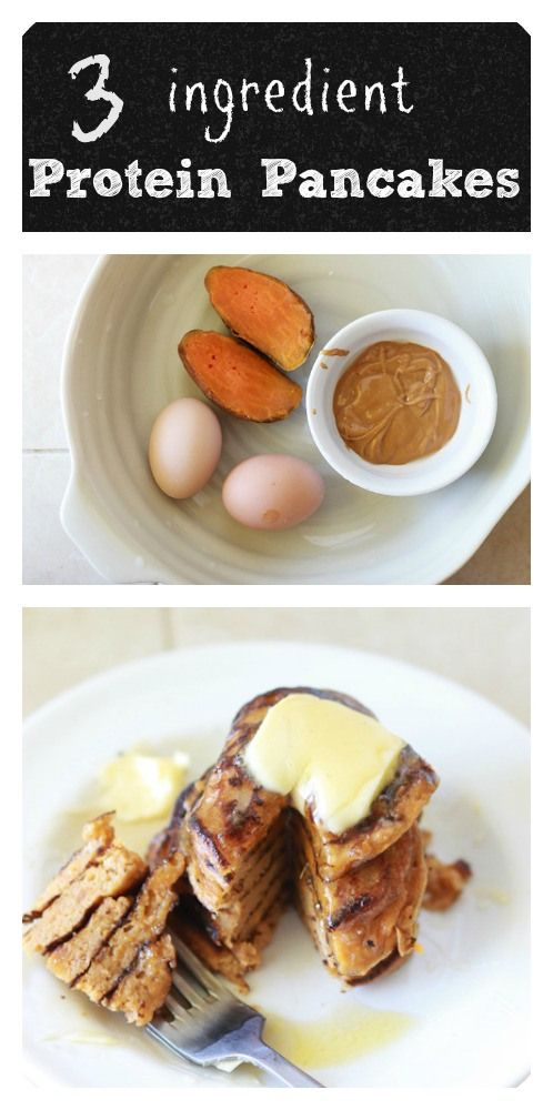 3 ingredients protein packed gluten free pancakes. Taste great and kids love them. http://www.coconutalmondrecipes.com/