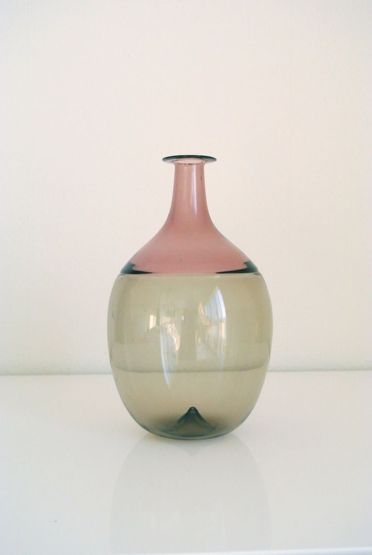 o o o Venini Murano Handblown Glass - Signed by TAPIO WIRKKALA. $1,100.00, via Etsy.