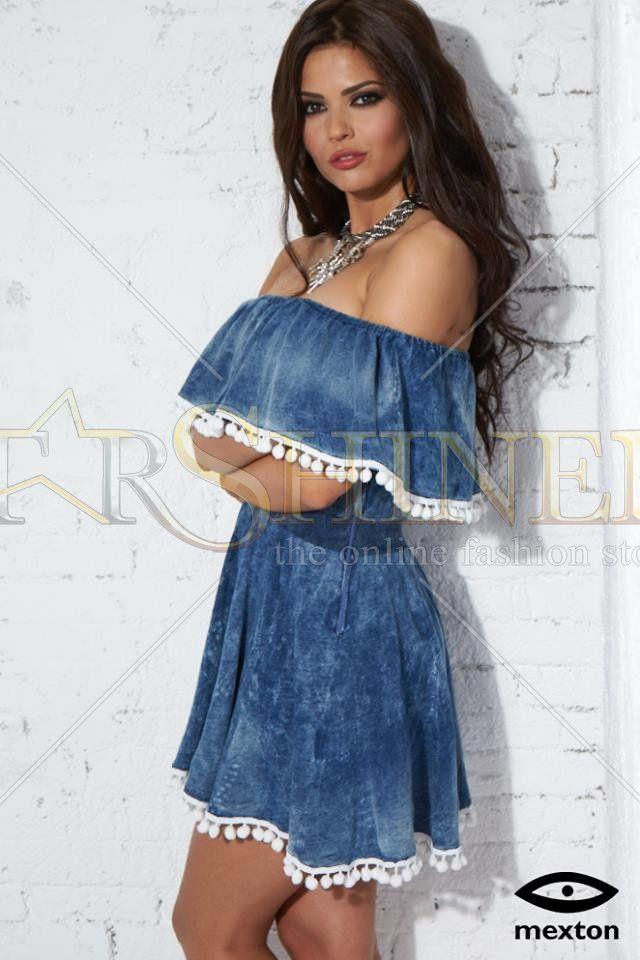 Mexton Supreme Look Blue Dress
