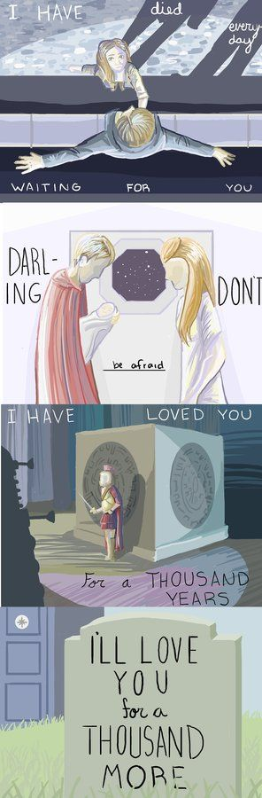 who made this? come on! #bbctearsforever #thousand #years #amy #rory #doctor #who