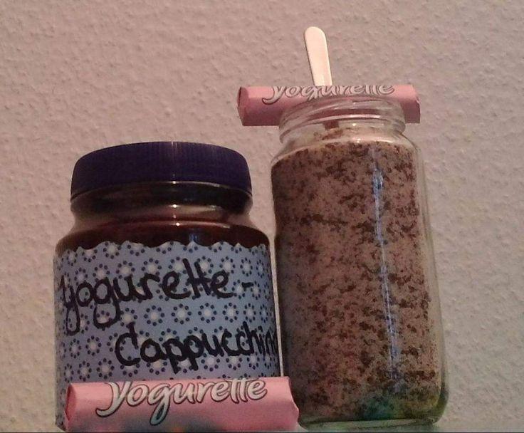 Rezept Variation von Yogurette-Cappuccino-Pulver von kossmonova - Rezept der Kategorie Getränke