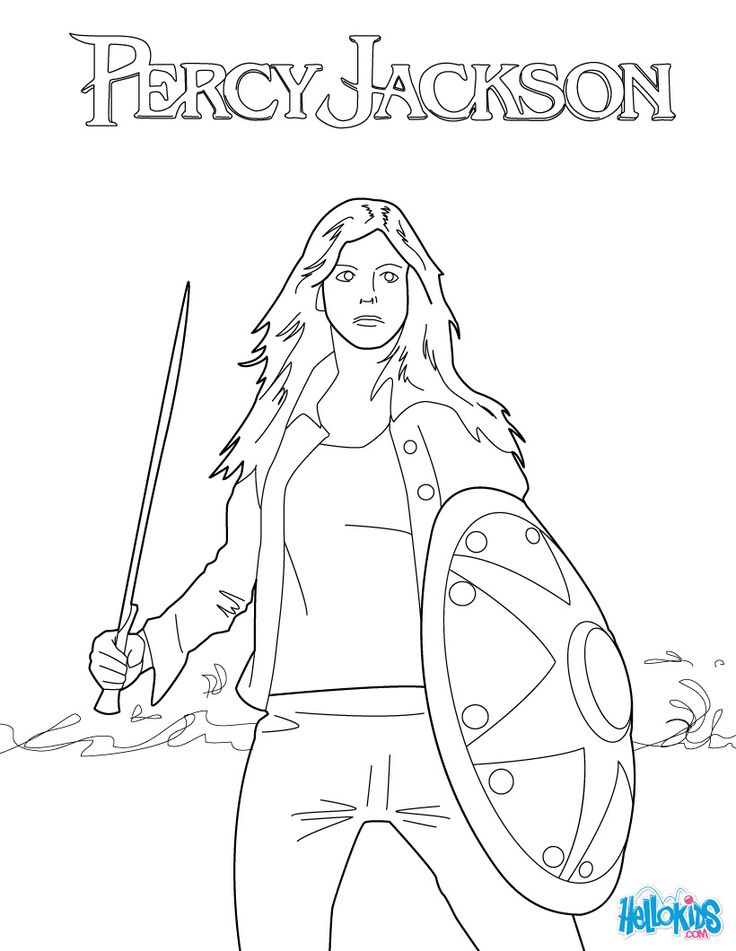 More colouring in fun with Percy Jackson click on the
