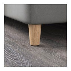 "IKEA - BRYNILEN, Leg, 3 7/8 "", , Made of solid wood, which is a durable and warm natural material."