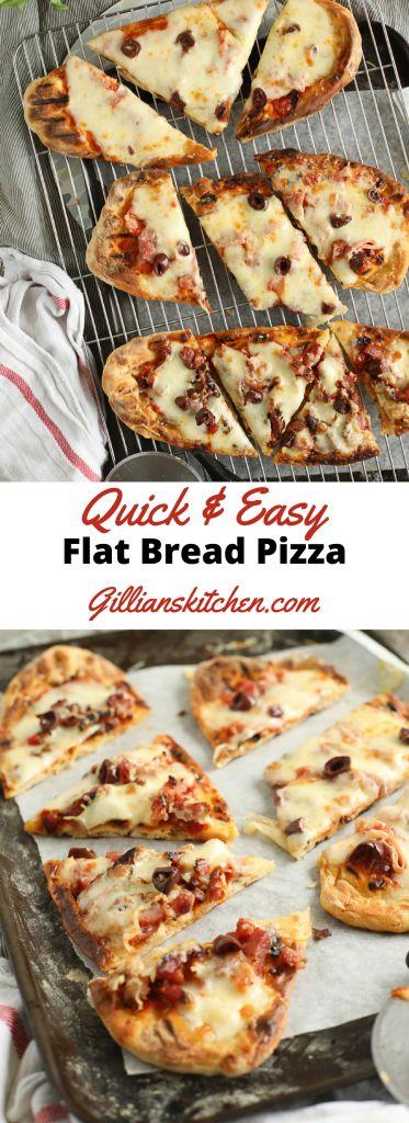 Easy Flat Bread Pizza