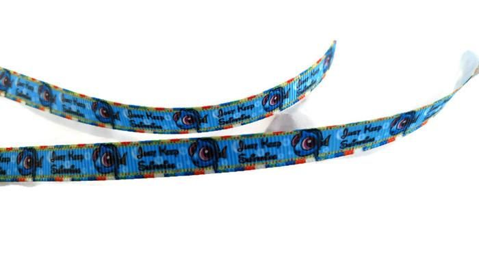 Baby Dory - Just Keep Swimming 3/8In Grosgrain Printed Ribbon - 5 Yards