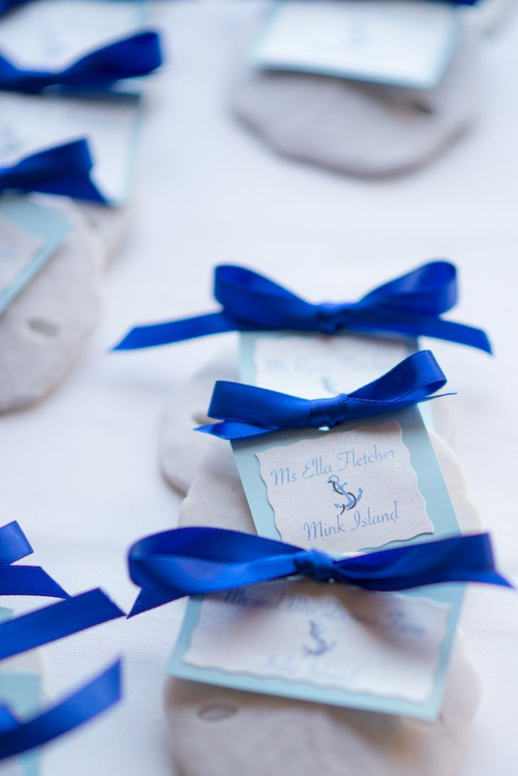 Nautical Sand Dollar Escort Cards | French 75 Photography | http://knot.ly/6492BLV5n | http://knot.ly/6494BLV5k
