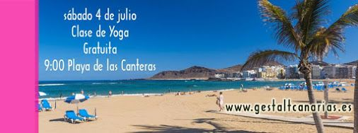 * * * Free Yoga session, Las Canteras Beach * * *  For anyone interested, this Saturday, July 4th, you can join a free Yoga class at Las Canteras Beach in Las Palmas. The event will start at 9am.  https://www.facebook.com/events/112614585744206/  #free #yoga #class #beach #lascanteras #laspalmas #grancanaria #canaryislands #spain   #clase #yoga #gratuito #playa #playadelascanteras #lascanteras #laspalmas #grancanaria #islascanarias #españa    Whats on in Gran Canaria - Google+