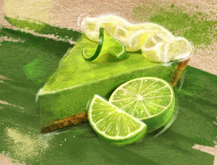 Lime cream pie to finish for a Wednesday noon #NationalGreasyFoodDay via http://www.mikewepplo.com/portfolio/desserts/