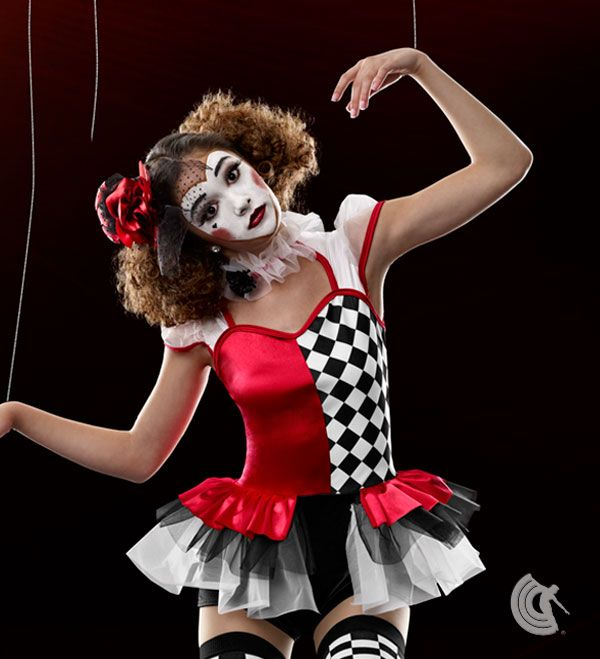 25 Edgy Dance Costumes Images Pinterest Curtain Call Funhouse Dark