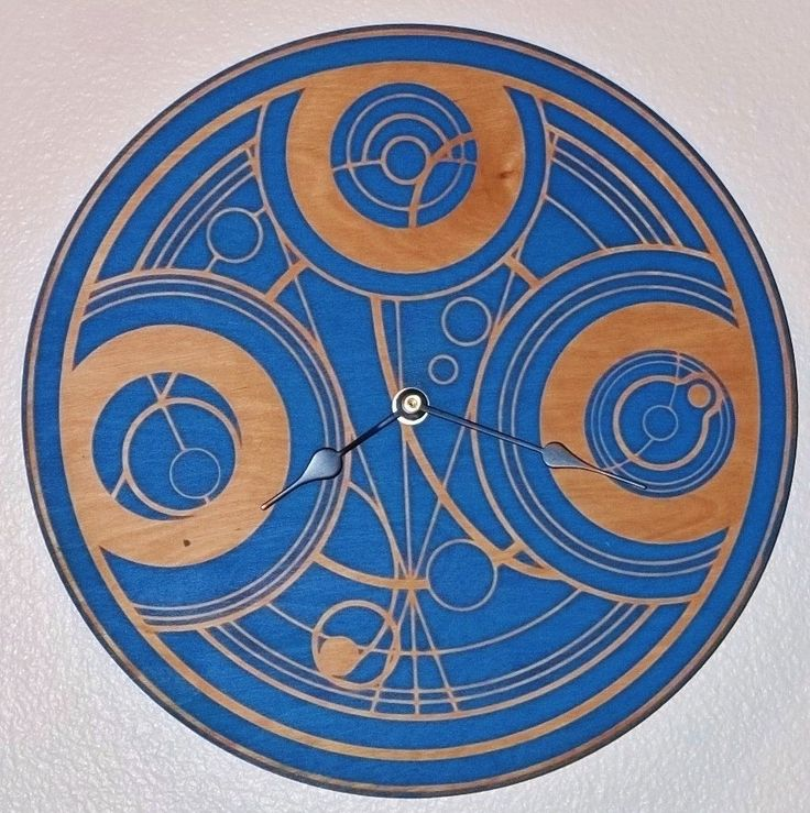 Doctor Who Gallifrey / Time Lord Clock by InfiniteArts on Etsy. $42.00, via Etsy.