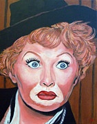 Celebrità Art - Lucille Ball di Tom Roderick