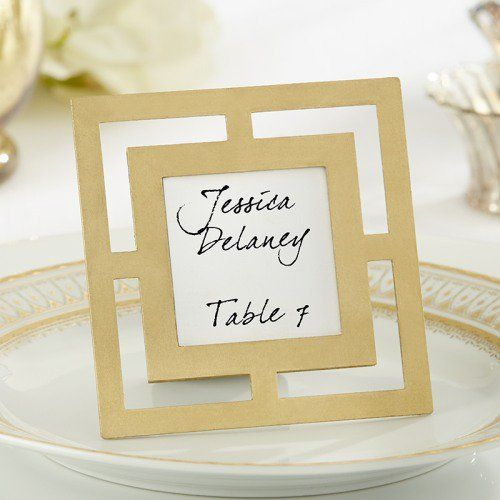 Modern Place Card Holder, Modern Frame, Classic Place Card Holder