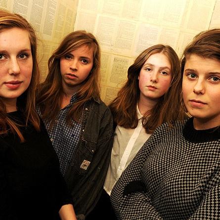 razika! all girl norwegian band.
