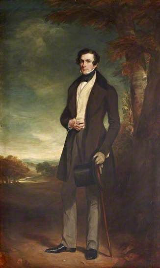 Frederick William Hervey (1800–1864), Earl Jermyn, Later 2nd Marquess of Bristol, PC, FSA, MP by Francis Grant, 1839