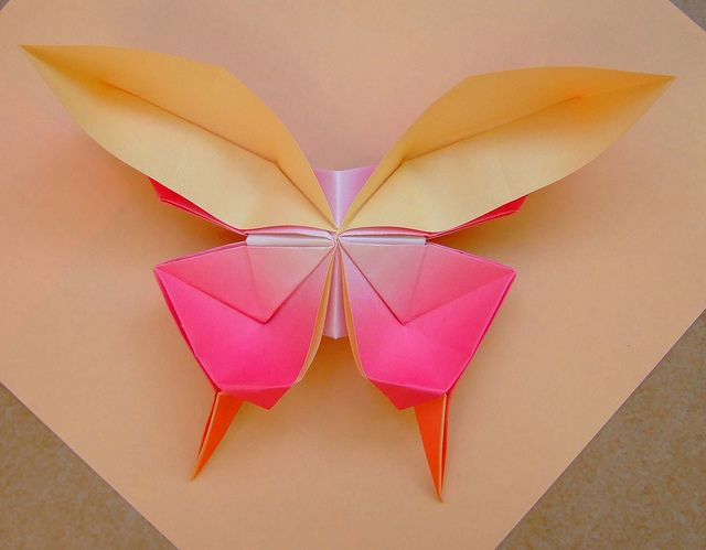 Origami Butterfly Swallowtail