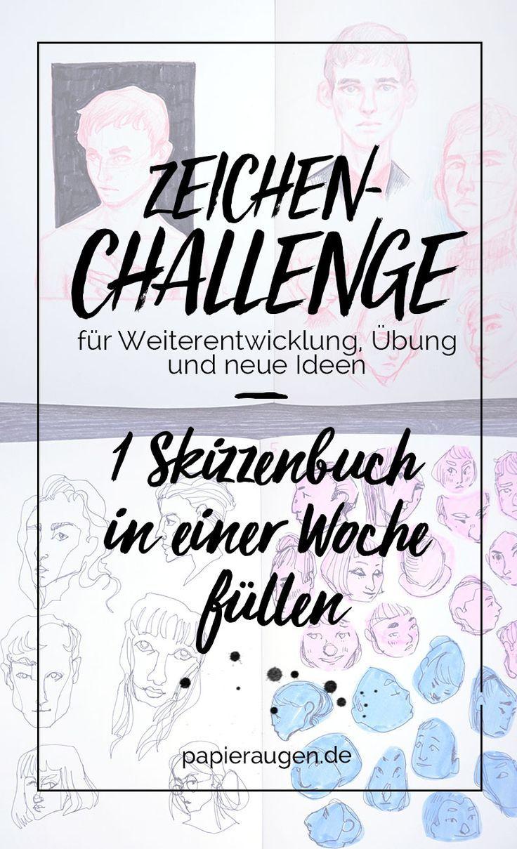 Skizzenbuchtour: One week sketchbook challenge [ + Videos
