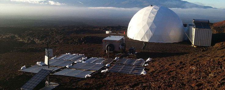 NASA HI-SEAS Dome