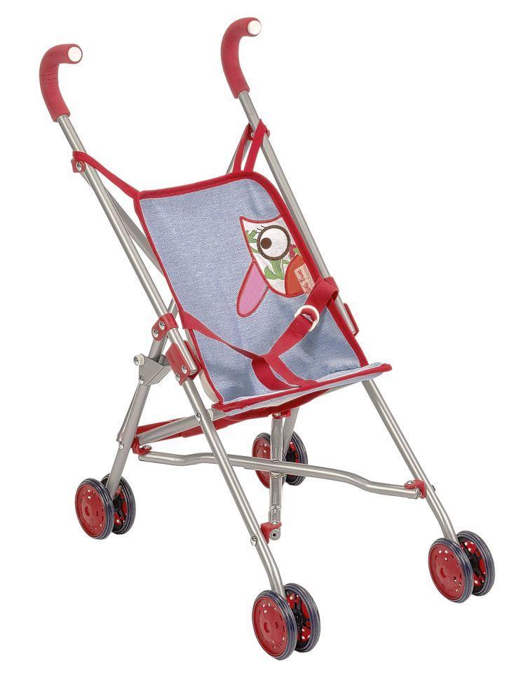 COCHECITO BÚHO Práctico y elegante Buggy de Käthe Kruse. La silla de paseo se puede plegar para ahorrar espacio. Apropiado para niños de 3 años en adelante. 16x10x21 centímetros Medidas aproximadas: 42x24x53 cm Materiales: Textil Otros materiales Edad recomendada: A partir de 3 años PVP: 31,60 € #cochecitomuñecas  #muñecas http://www.babycaprichos.com/cochecito-buho.html