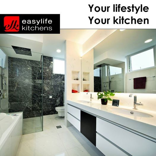 Although Easylife Kitchens George is known for our kitchen design, we also design, manufacture and install bathroom vanity cupboards. Contact us for more details regarding all our services. #designercupboards #homedecor #homecupboards