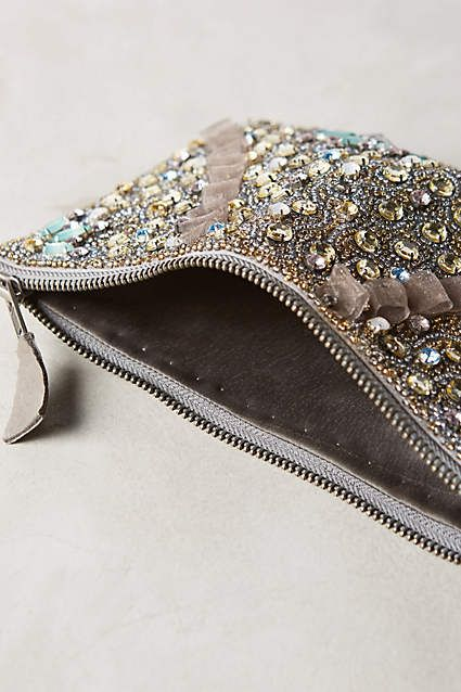 Myra Embellished Pouch - anthropologie.com #anthroregistry