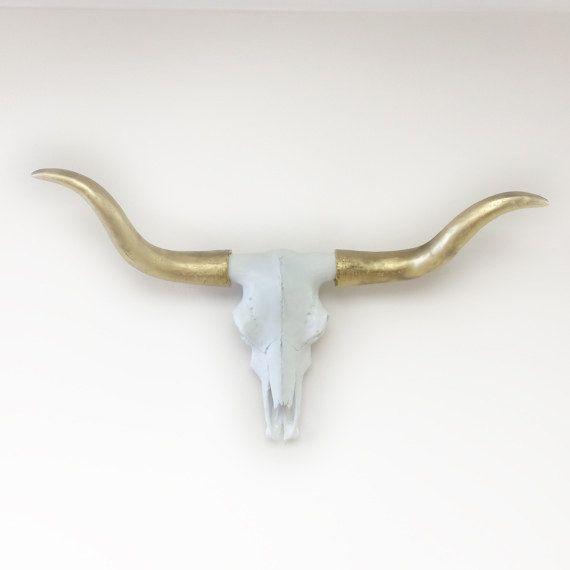 1000 id es sur le th me cow skull art sur pinterest for Vache decorative interieur