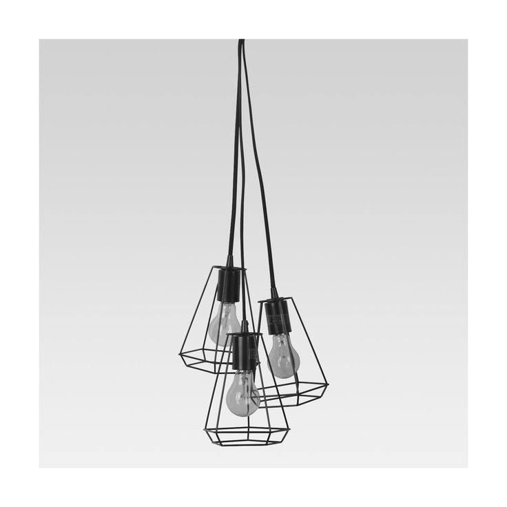 Brighten Up Your Living Area With This Brass Geometric Metal 3 Cluster Pendant  Light From