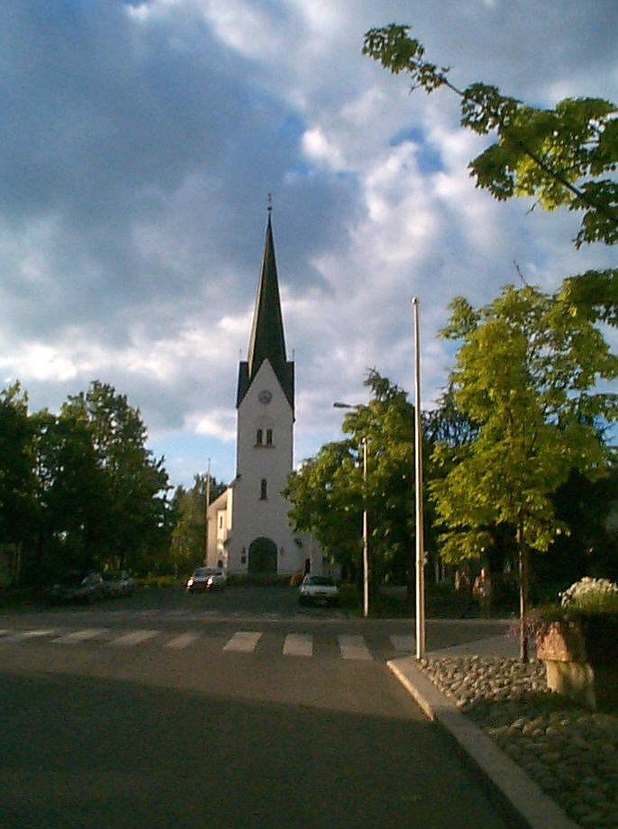 Hamar Lutheran Church in Norway