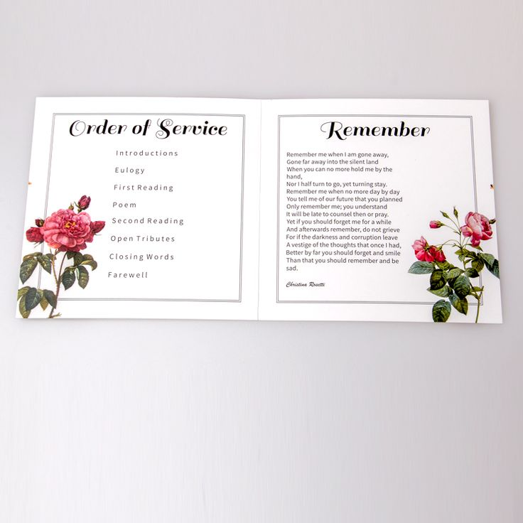 26 best Bespoke Funeral Service Sheets images on Pinterest - funeral service templates word