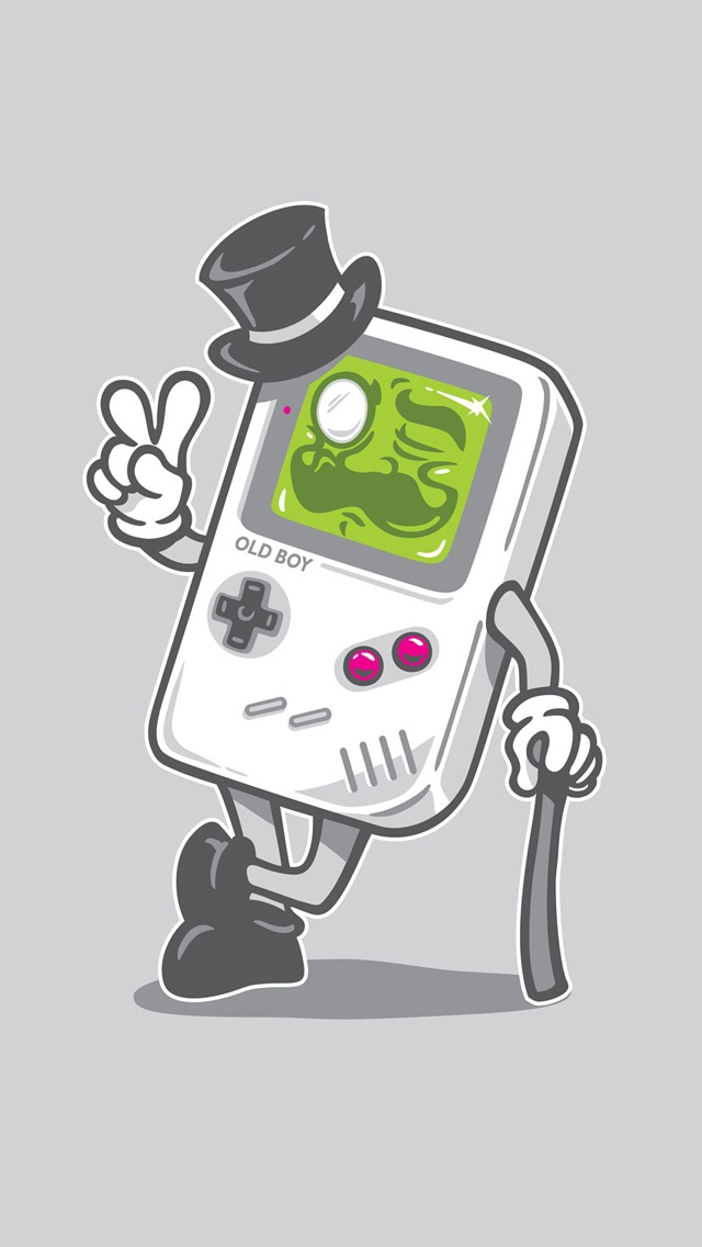 Classic game boy old boy iphone 5 wallpaper go to - Iphone wallpapers for gamers ...