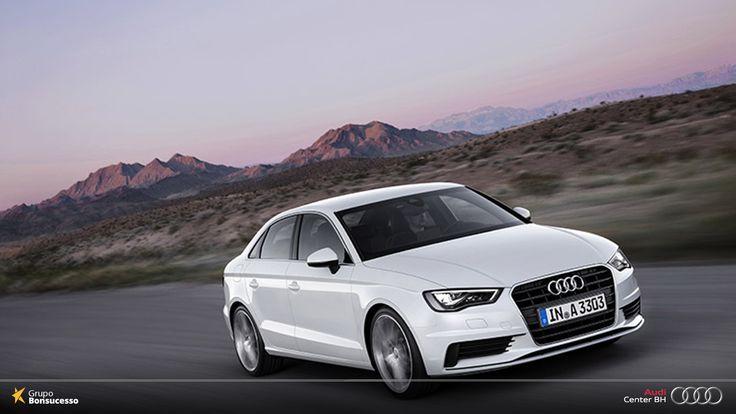 Um carro nunca foi tão elegante e completo como o Audi A3 Sedan.   #AudiLovers #Love #AudiAutomóvel #AudiCenterBH #AudiA3Sedan #AudiA3 #Audi #A3