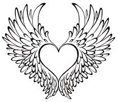 Give my heart wings to fly.   I think I have decided that this is going to be my next tattoo.....yup it is! Suzy