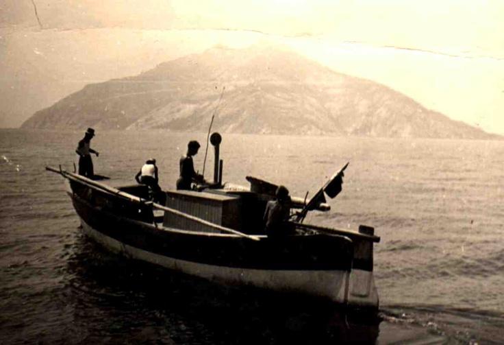 Isola di Montecristo - vintage photo