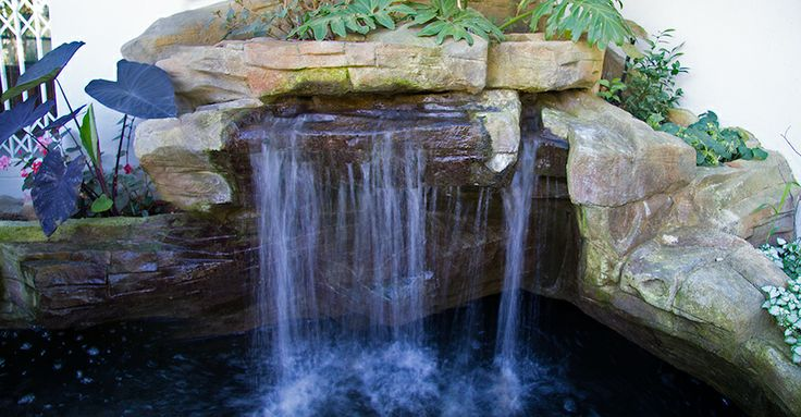 The 10 best ponds with waterfalls images on pinterest for Koi pond builders cape town