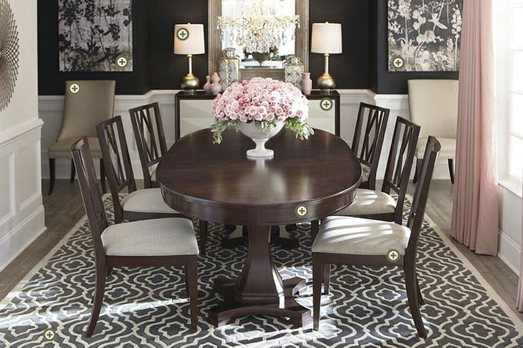 17 best images about bassett on pinterest saddle leather large oval dining room table oval dining room table sets