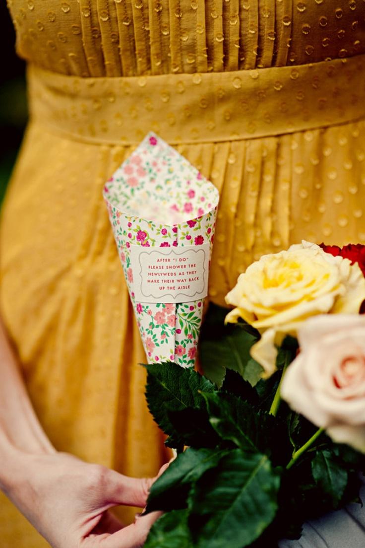 #confetti  Photography by jessandnatestudios.com    Read more - http://www.stylemepretty.com/2010/01/13/michigan-wedding-with-diy-charm/