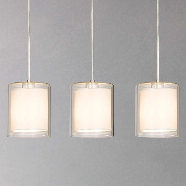 House by John Lewis Wayward Triple Bar Pendant at John Lewis