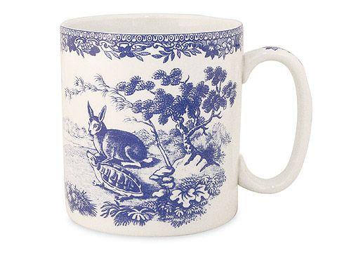 Spode - Blue Room Collection Mug Aesop's Fables | Peter's of Kensington