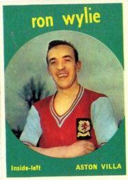 8. Ron Wylie Aston Villa