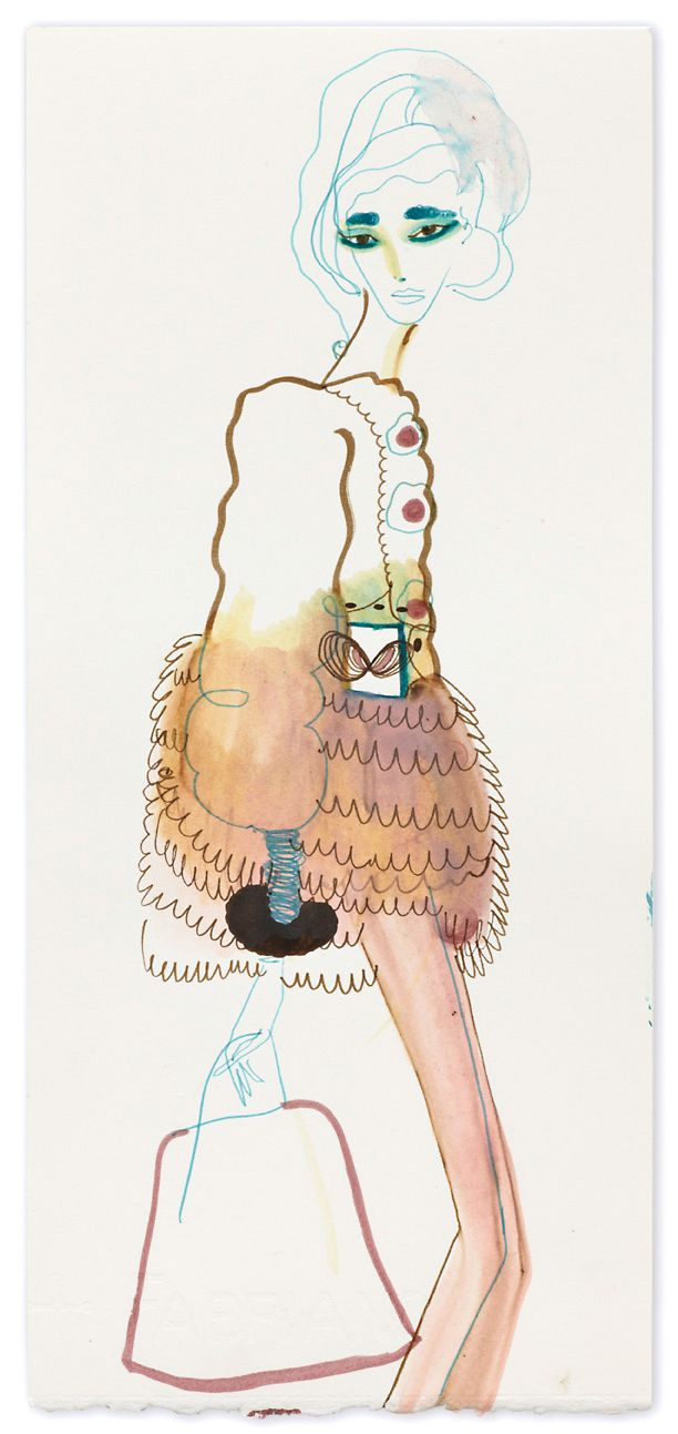 Tanya Ling's drawings crack me up - flair and fun - unbeatable