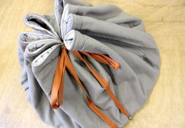 Tutoriel tapis de jeu sac à jouet nomade