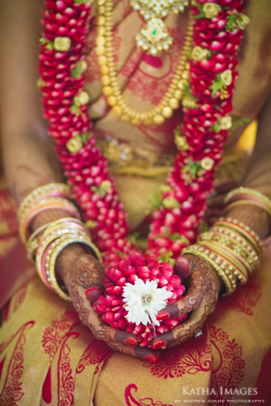 flower garland - katha images #indianwedding #shaadibazaar