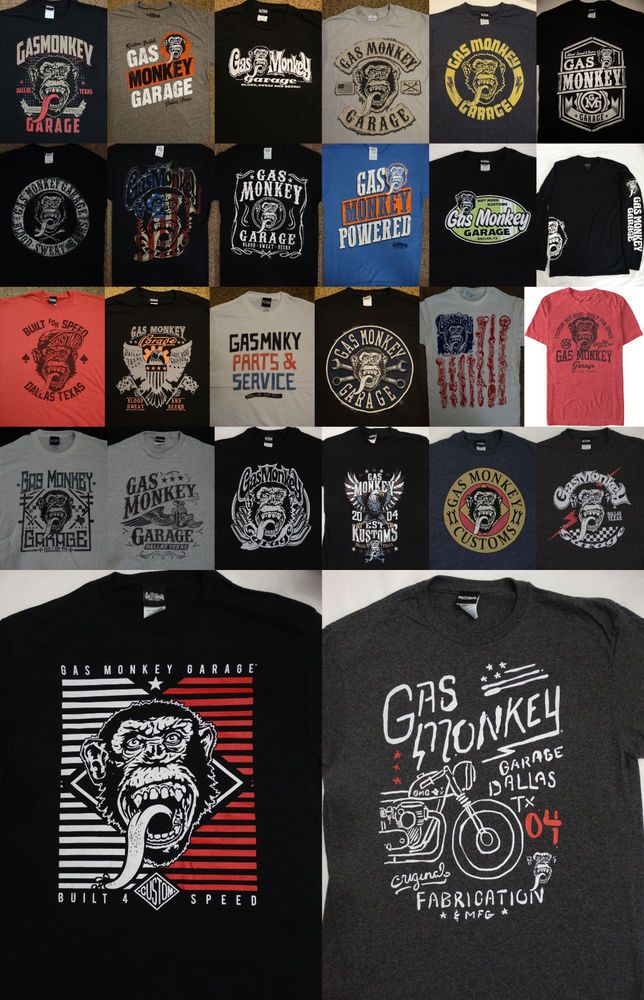 Fast N Loud Discovery Tv Show Gas Monkey Garage T-Shirt
