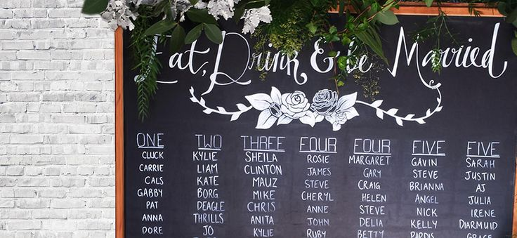 Cassandra Storm D. - HANDMADE BESPOKE CHALKBOARDS  #CassandraStormDDesignSolutions #wedding #chalkboard